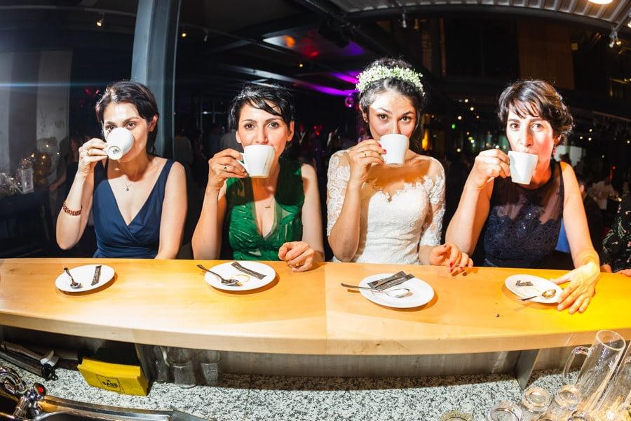 Kaffeepause Hochzeit