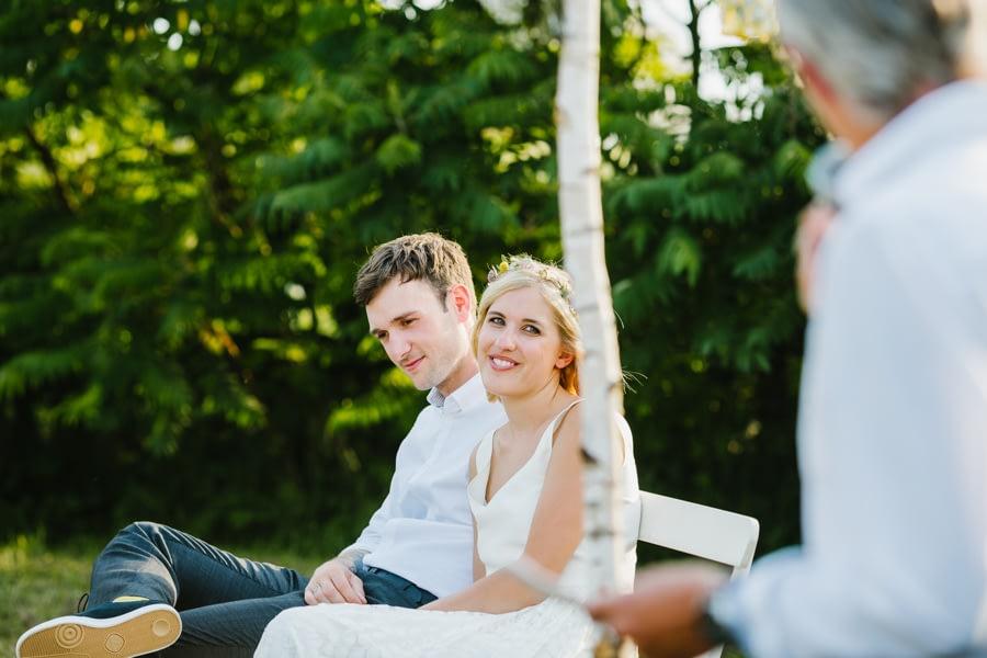 Brautpaar Rede