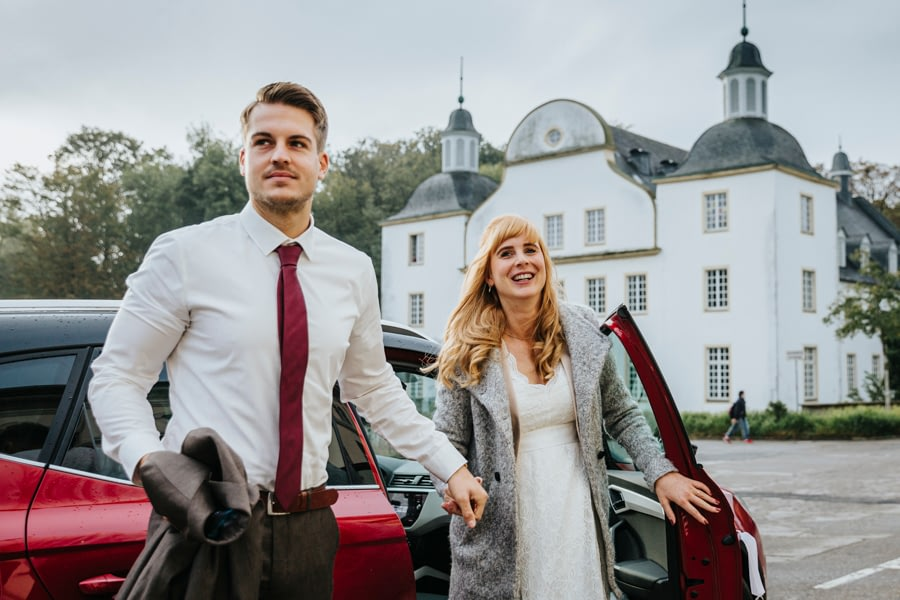 Ankunft Brautpaar