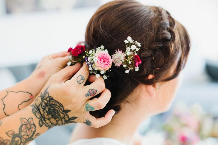 Haarstyling Braut
