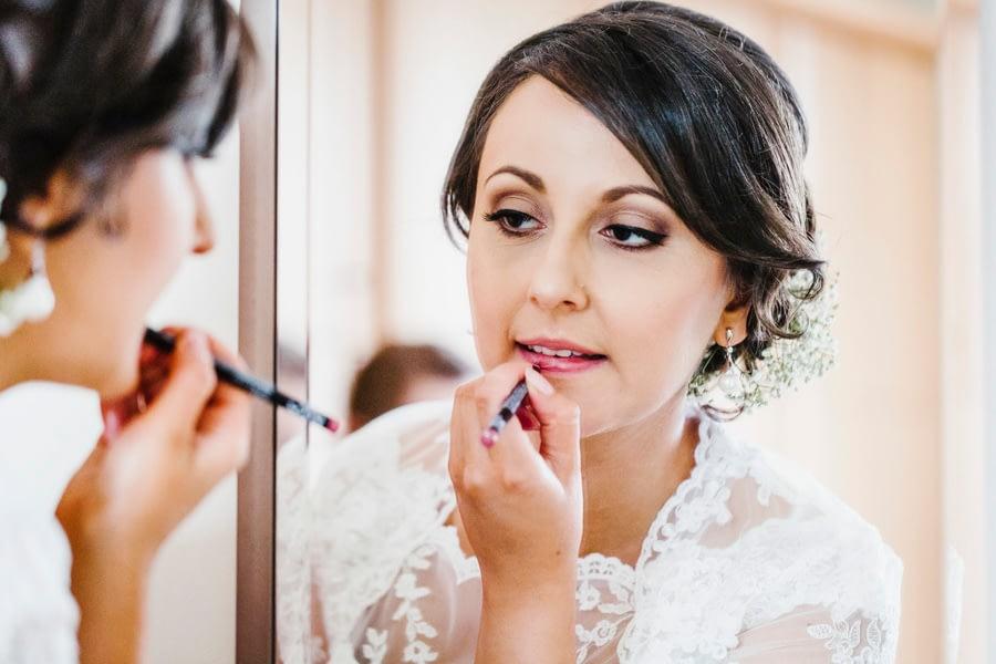 Braut Lippen
