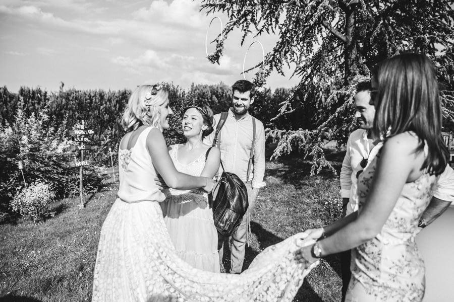 Brautpaar Gäste