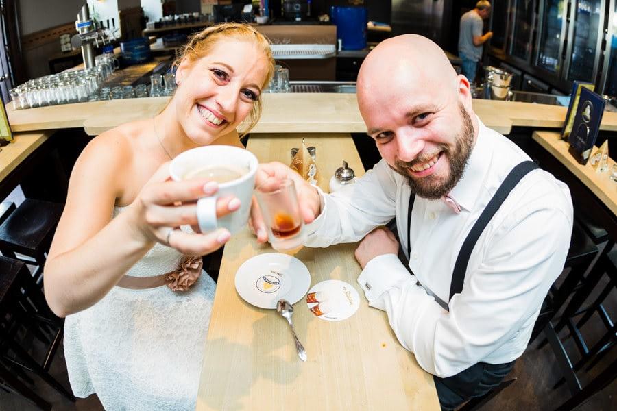 Café Brautpaar