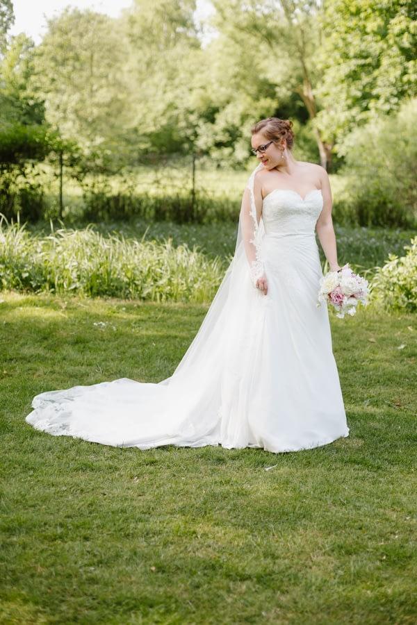 Hochzeitsshooting Braut Brautkleid