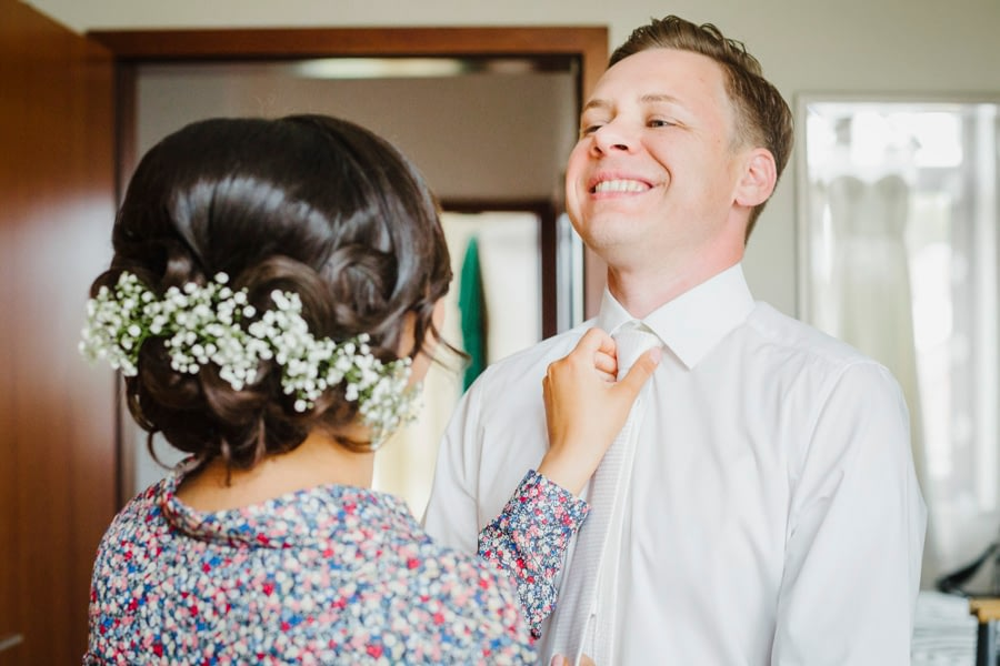 Brautpaar Vorbereitung
