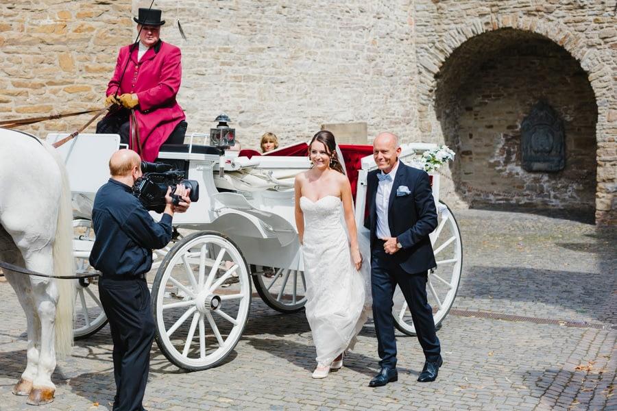 Braut Kutsche