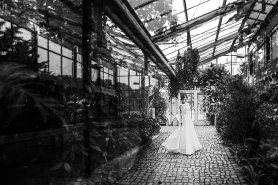Braut Gewächshaus