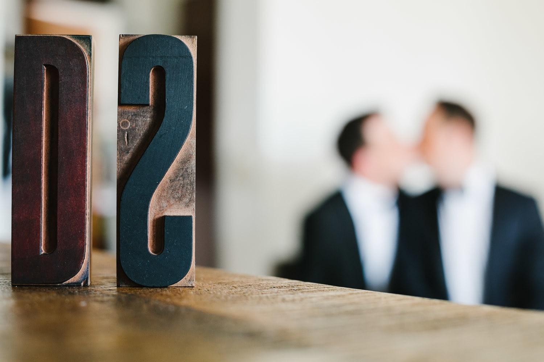 Bokeh Hochzeitspaar