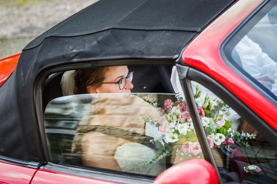Ankunft Braut