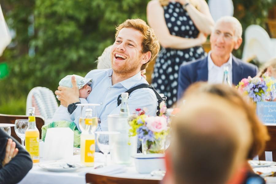 Emotionen auf der Hochzeit