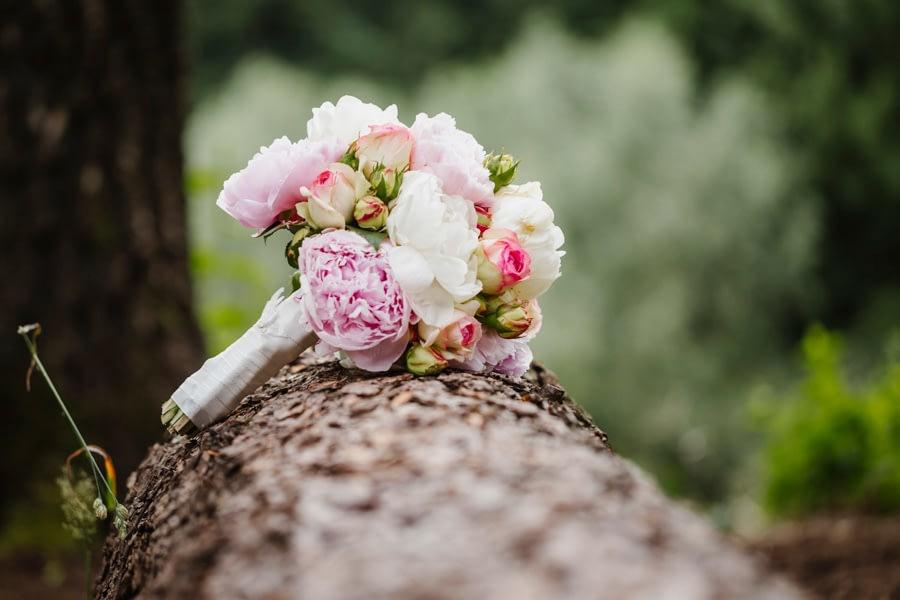 Brautstrauß natur