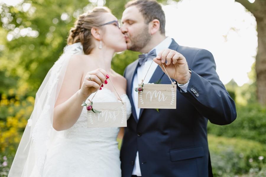 Hochzeitsshooting Schilder