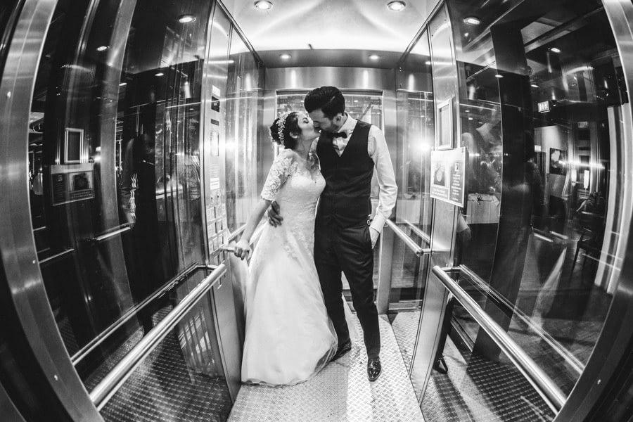 Paarshooting Aufzug