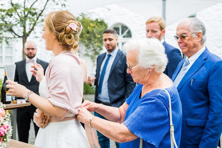 Hochzeitskleid Großmutter