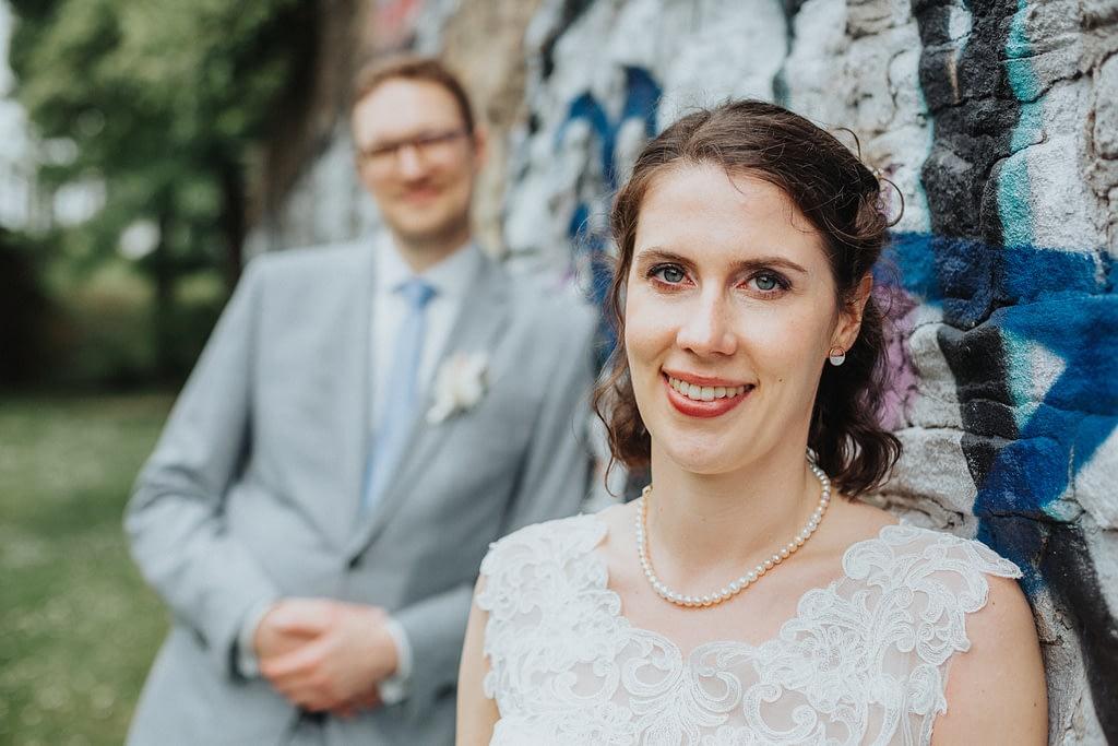 Braut im Fokus