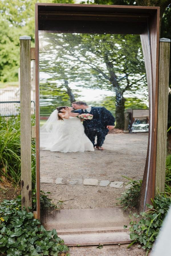 Brautpaar Spiegel